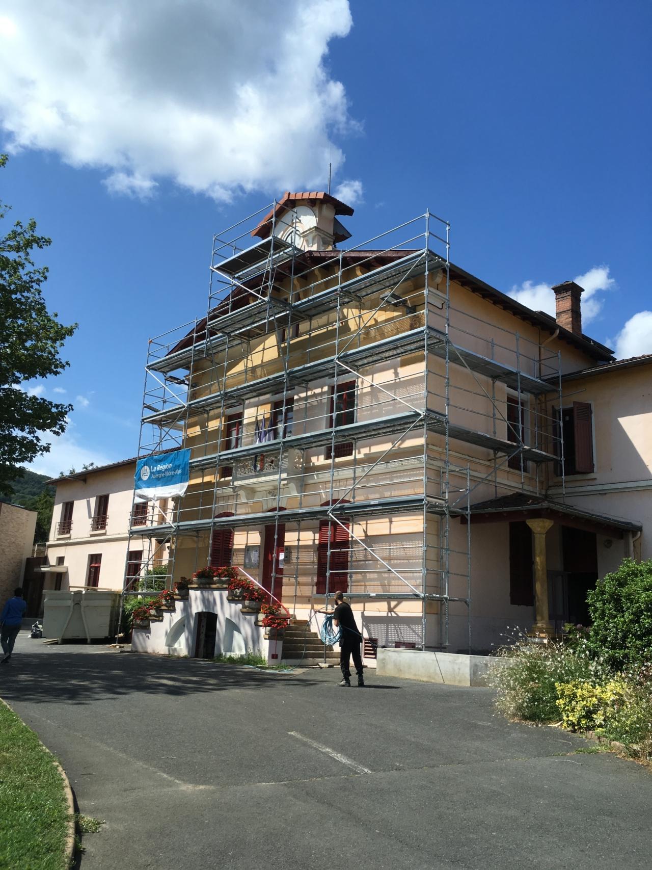 Rénovation énergétique de la mairie et de l'école maternelle