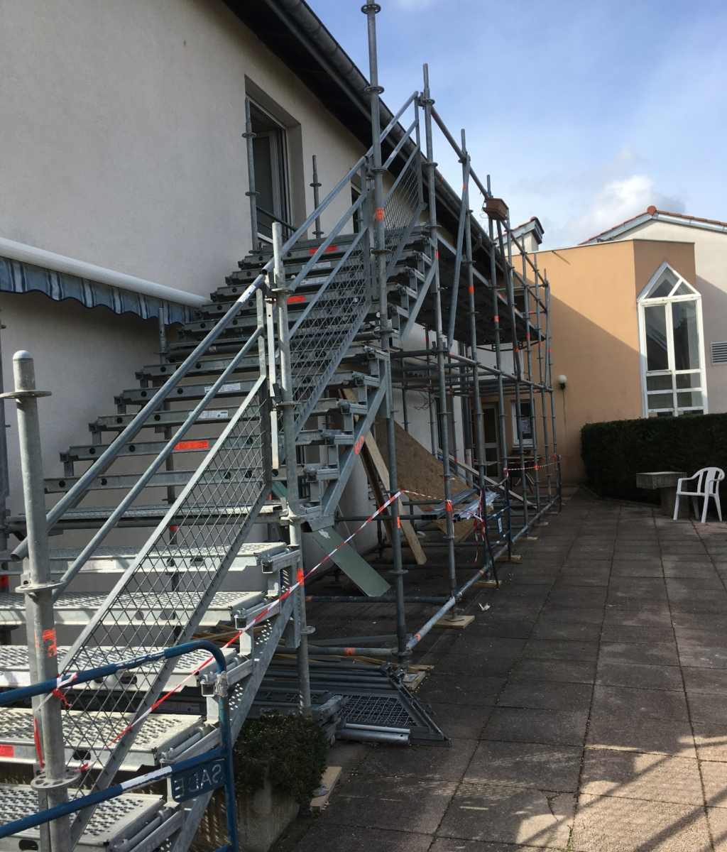 Rénovation d'une partie du bâtiment D