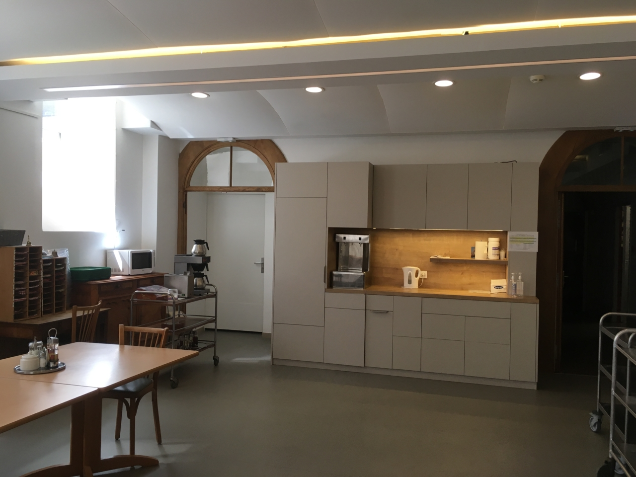 Rénovation d'une salle à manger d'un EHPAD