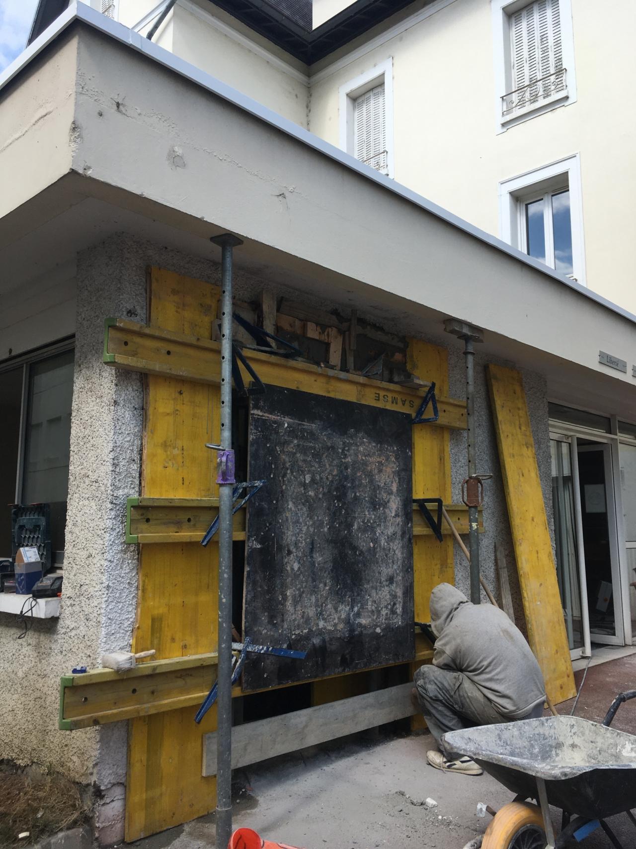 Rénovation dans le Lycée Hôtelier de Challes-les-Eaux