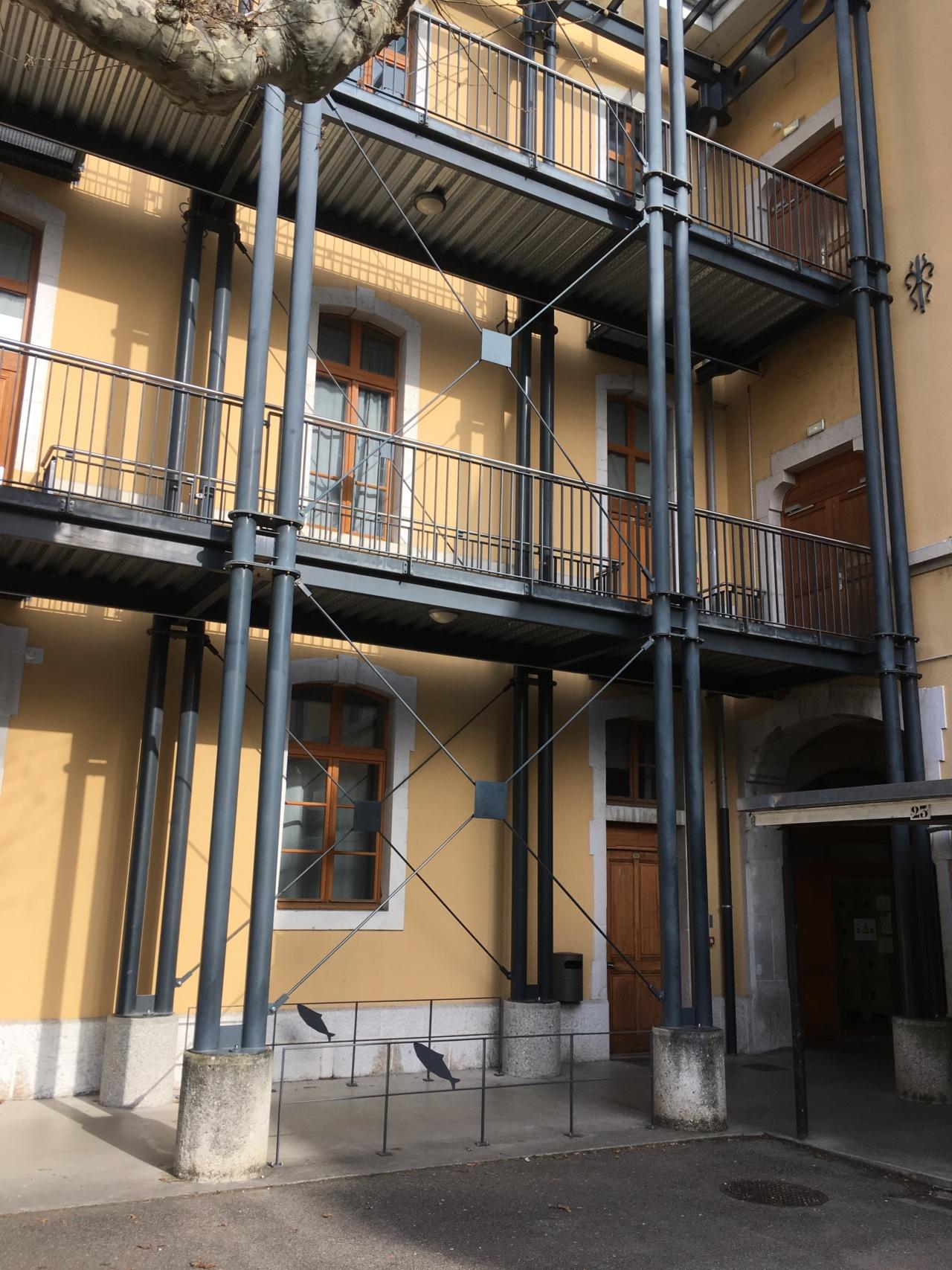 Nouvelle infirmerie au Lycée Berthollet et mise en accessibilité totale du site